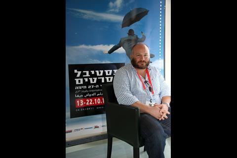 Bedlam Productions' Gareth Unwin (a producer of The King's Speech), who served as president of the jury for Israeli films.